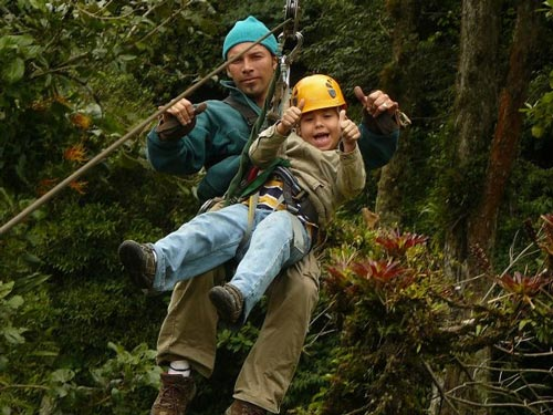 Boquete Zipline For Kids